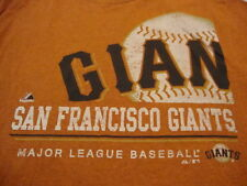 MLB San Francisco Giants Major League Baseball Fan Majestic Apparel T Shirt XL