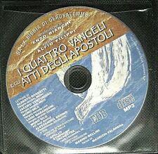 Audiolibro audiobook MP3 I quattro Vangeli e gli Atti degli apostoli  USATO