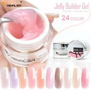 Jelly Builder Gel 24 Colors Nail Extend Gel French Gel Natural Camouflage Color