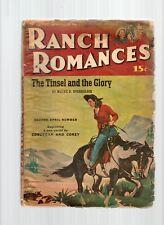 Ranch Romances Pulp Magazine April 2nd 1948 Fr/G