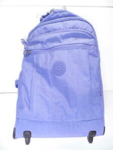 Kipling Gaze Large Rolling Backpack - 73X Eggplant Purple - KI4784