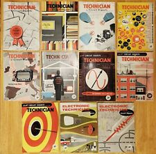 11 Vintage Year 1956 Technician Circuit Digests Electronics Magazines