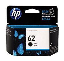 HP 62 Black Ink Cartridge C2P04AN Genuine New