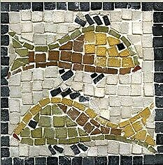 Stone By Stone Mosaic Making Kit - Pisces Zodiac Design | DIY Handicraft Stone