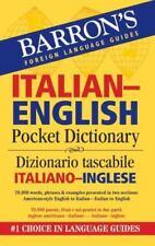 Barron's Italian-English Pocket Bilingual Dictionary (Barron's Pocket Bilingual