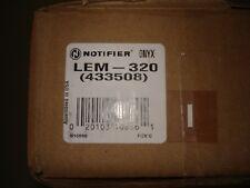 """NOTIFIER LEM-320  (LOT OF 2)  """"NEW"""""""
