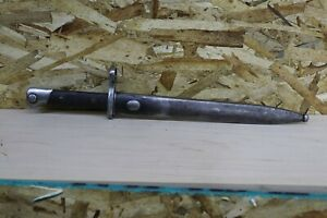 M. 1895 Chilean Mauser Knife / Bayo + Scabbard - Non Matching Serial A8828