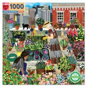 Urban Garden 1000 Piece Jigsaw Puzzle by eeboo