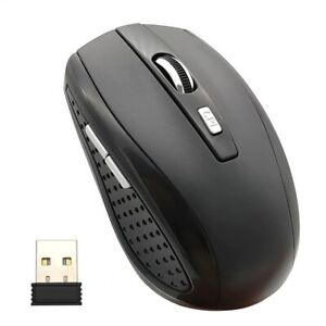 US New 2.4Ghz  2000 DPI 6 Keys Optical  Wireless Gaming Mouse With USB Receiver