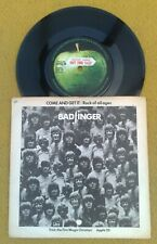 "BADFINGER "" COME & GET IT "" SUPER ORIG UK 45 SAMPLE APPLE  RARE PIC SLEEVE"