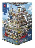 HY29697 - Heye Puzzles - Triangular Jigsaw Cruise, Lyon- 1500 pieces