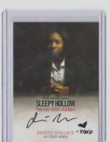 CRYPTOZOIC SLEEPY HOLLOW SEASON 1 Trading Card Jahnee Wallace as Teen Abbie