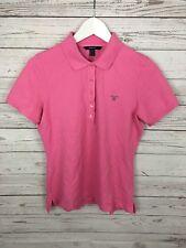 Women's GANT Polo Shirt - Medium - Pink - Great Condition