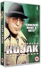 Kojak: Season 4 DVD (2011) Telly Savalas cert 15 5 discs ***NEW*** Amazing Value