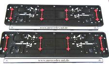 Würth Kennzeichenhalter Nummernschildunterlage Kennzeichenbefestigung Twin Fixx