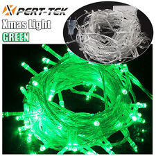 50FT 200 LED Christmas Green Wedding Decor Outdoor Party Fairy String Light Lamp