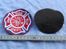 PATCH US FIRE DEPT. POMPIER US 1960/1970