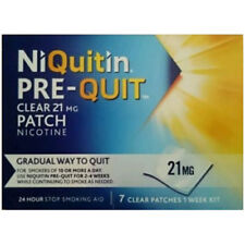 NiQuitin Pre-Quit Clear Patches 21mg x 7