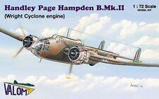 Valom 1/72 Model Kit 72066 Handley-Page Hampden Mk.II
