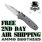 Benchmade 585-2 Gray Mini Barrage Assisted-Opening Folding Knife - NEW