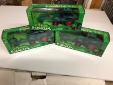 3 Green Farm Friction Tractor  Green  Farm Tractor/truck FREE SHIPPING assorted