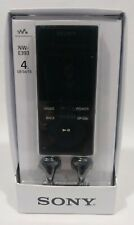 Sony Walkman Digital Music Audio MP3 Player NW-E393 Black E Series 4GB New
