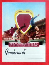 anni 50/60 calcio QUADERNO FIORENTINA  >> football