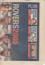 Hull Kingston Rovers 2005 - A Hull Daily Mail 20 page Souvenir Newspaper