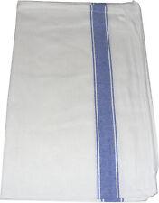 grande azul y blanco calidad 100% Algodón Cocina Cristal Paño / 70 x 48cm