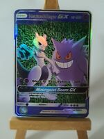 Mewtwo and Gengar Proxy Custom Pokemon Card in Holo