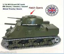 Haya Radio Remote Controlled RC  Tank M3 Grant M3 Lee 1/16 Super Detail UK