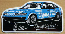 Austin Rover SD1 Jeff Allam / Frank Sytner Race Retro Motorsport Sticker / Decal