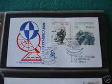 FDC ITALIA 1979 TELECOMUNICAZIONI BUSTA VENETIA