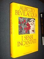 I sensi incantati Bevilacqua Mondadori I ed. 1991 MI ^