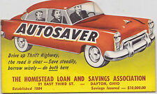 NOS 1950s BANTHRICO BANK Autosaver Coin Holdier -  HOMESTEAD SAVINGS AND LOAN