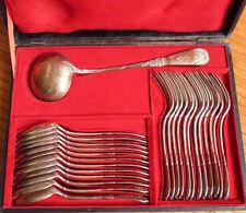 ménagère couverts ARGENT massif Minerve 2,3 kilo Armand FRENAIS 1900 silver