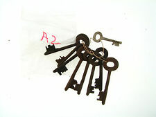 Vintage Huge Lot MIxed Skeleton Key Steel Mix Mixed Media Collection Parts A2