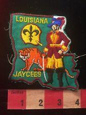 Circus Tiger Louisiana Jaycees Patch 81Z7