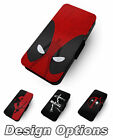 Deadpool Disegni 2 Stampa In Simil Cover Custodia A Flip In Pelle Per Cellulari