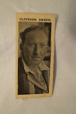 1959 - Vintage - Clevedon Confectionery Cricket Card - Stuart Surridge - Surrey
