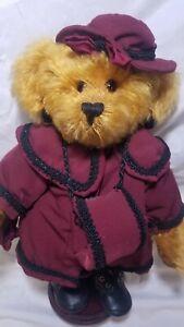 "Barbara Cardwell ""Victoria"" artist teddy bear mohair 13"" LE Honey Cups Originals"