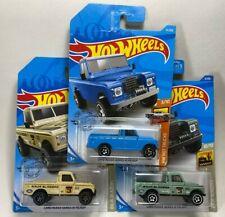 Hot Wheels Land Rover Series III Pickup - Lot of 3 - Baja Blazers & Hot Trucks