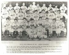 1944 ST. LOUIS CARDINALS 8X10 TEAM PHOTO BASEBALL MLB PICTURE WORLD CHAMPS