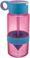 Kid Zinger juice making water bottle 16-Ounce, Pink (G1)