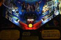 Star Wars, Pirates of the Caribbean Pinball Machine trough light Mod