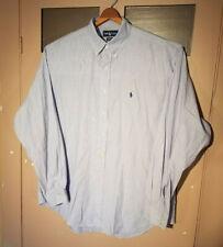 Polo Ralph Lauren Yarmouth Button Down Dress Shirt Mens17 36/37 Long Sleeve XL