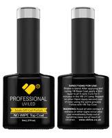 No Wipe Top Coat VB™ Line - UV/LED soak off gel nail polish
