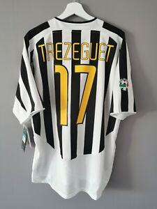 Maillot authentique rare JUVENTUS 2003 2004 TREZEGUET shirt maglia jersey nike