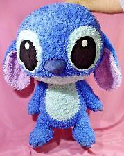 "RARE JUMBO Big Head STITCH Plush Toy Fuzzy Bean Bag Heartland Disney 24"" EMS"