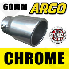 CHROME EXHAUST TAILPIPE TIP TRIM END MUFFLER FINISHER TOYOTA LAND CRUISER 4X4